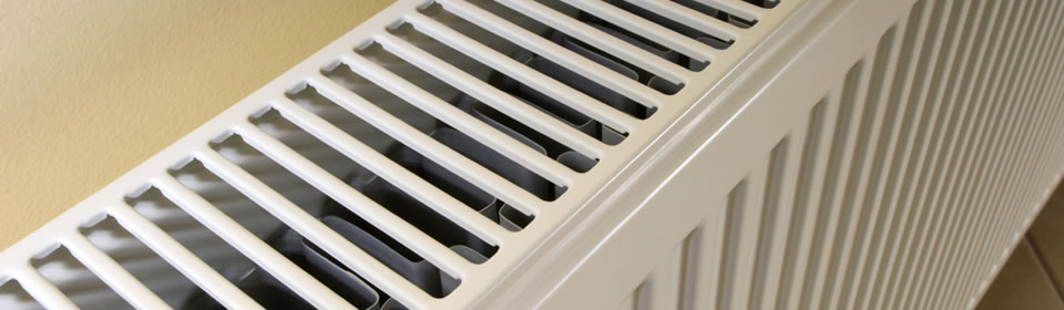 radiator van bovenaf