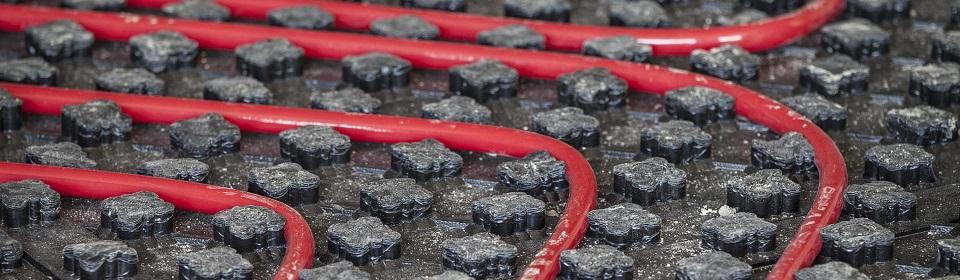 vloerverwarming leidingen